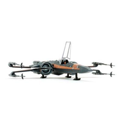 Set de figuritas Poe Dameron y caza Ala-X