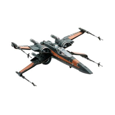 Figurines Poe Dameron et chasseur X-Wing