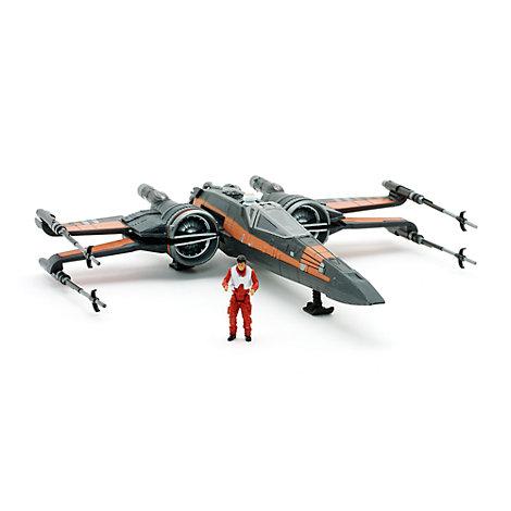 Poe Dameron und X-Wing Fighter - Figurenset