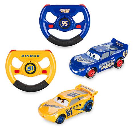 Automobiline con telecomando Disney Pixar Cars 3, Favoloso Saetta McQueen e Cruz Ramirez