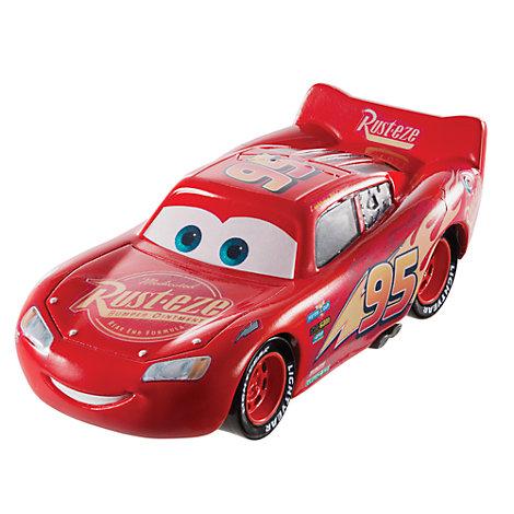 Vehículo a escala de Rayo McQueen de Disney Pixar Cars 3