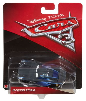 Voiture miniature Jackson Storm, Disney Pixar Cars3