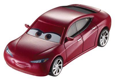 Natalie Certain formgjuten figur, Disney Pixar Bilar 3