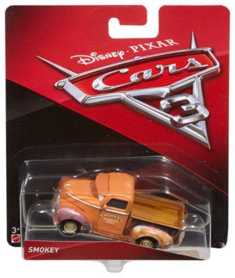 Smokey formgjuten figur, Disney Pixar Bilar 3