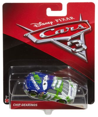 Voiture miniature Chip Gearings, Disney Pixar Cars 3