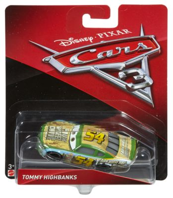 Macchinina Disney Pixar Cars 3, Tommy Highbanks