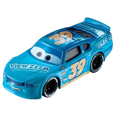 Buck Bearingly formgjuten figur, Disney Pixar Bilar 3