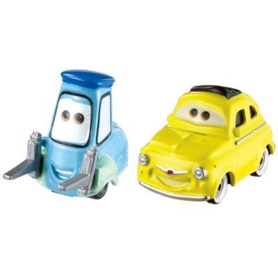 Ensemble de voitures miniatures Luigi et Guido, Disney Pixar Cars3