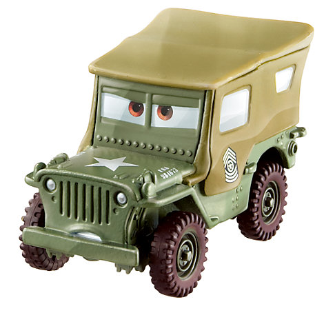 Voiture miniature Sergent, Disney Pixar Cars3