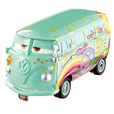 Voiture miniature Fillmore, Disney Pixar Cars 3
