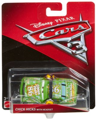 Disney/Pixar Cars 3 - Die Cast Chick Hicks mit Headset
