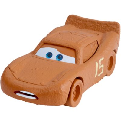Voiture miniature Flash McQueen sous les traits de Chester Whipplefilter, Disney Pixar Cars 3