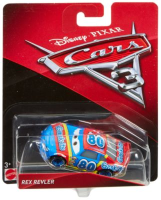 Vehículo a escala Rex Revler, Disney Pixar Cars3