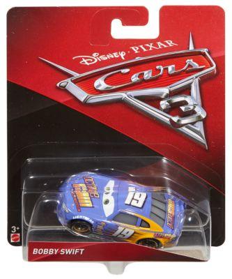 Formstøbt Bobby Swift figur, Disney Pixar Biler 3