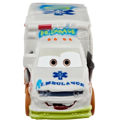 Dr. Damage Crazy 8 Crashers Figure, Disney Pixar Cars 3