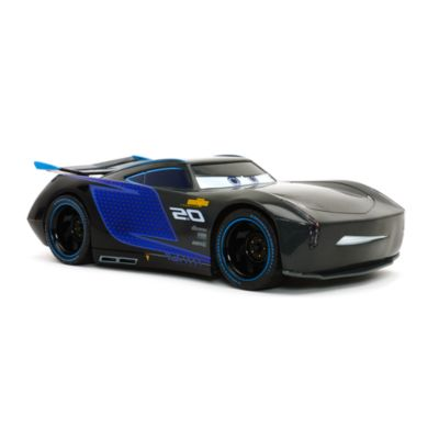 coche teledirigido jackson storm disney pixar cars 3. Black Bedroom Furniture Sets. Home Design Ideas