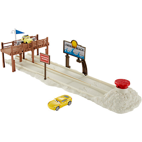 Disney Pixar Cars 3 Fireball Beach Track Set