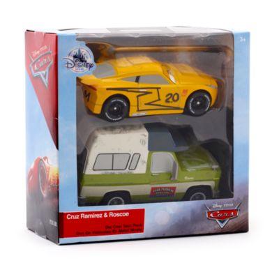 Vehículos a escala Cruz Ramírez y Roscoe, Disney Pixar Cars 3