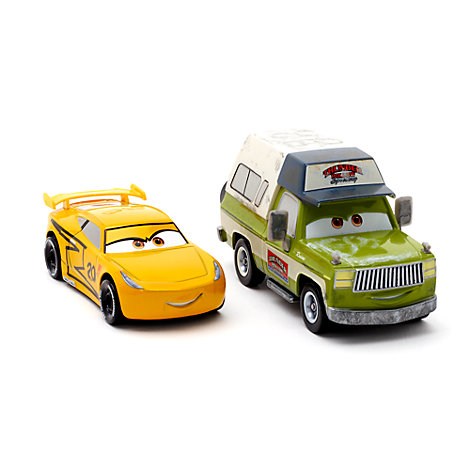 cruz ramirez and roscoe die casts disney pixar cars 3. Black Bedroom Furniture Sets. Home Design Ideas
