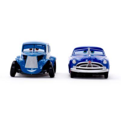 Vehículos a escala Hudson Hornet y River Scott, Disney Pixar Cars 3
