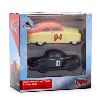 Macchinine Louise Barnstormer Nash e Junior Moon, Disney Pixar Cars 3