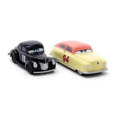 Vehículos a escala Louise ''Terror del Granero'' Nash y Junior Moon, Disney Pixar Cars 3