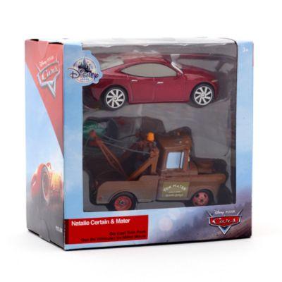 Vehículos a escala Natalie Certain y Mate, Disney Pixar Cars 3