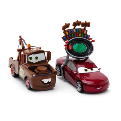 Voitures miniatures Natalie Certain et Mater, Disney Pixar Cars3