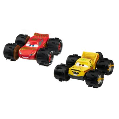 Lightning McQueen und Taco - Gelände-Rennwagen
