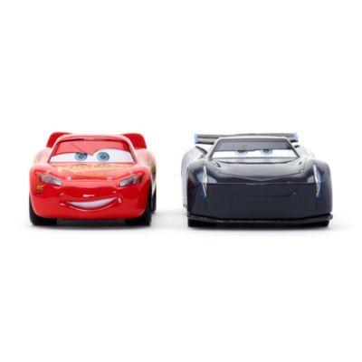 Macchinine Disney Pixar Cars 3, Saetta McQueen e Jackson Storm