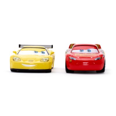 Lightning McQueen and Jeff Gorvette Die-Casts, Disney Pixar Cars 3