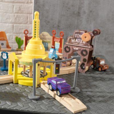 Set de madera de vías de Radiador Springs, Disney Pixar Cars3