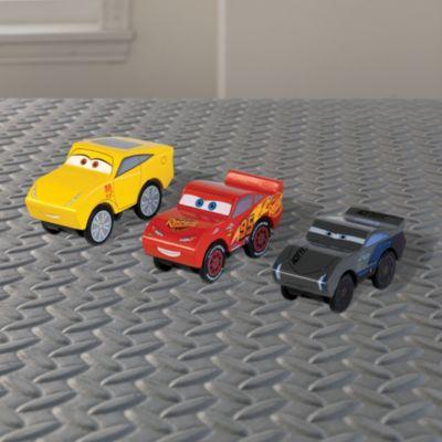 Disney/Pixar Cars3 - hölzern Piston Cup Figuren, 3er Pack