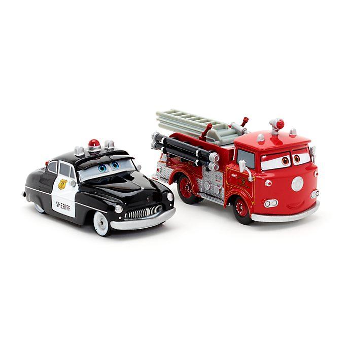 Voitures miniatures Sheriff et Red, Disney Pixar Cars3