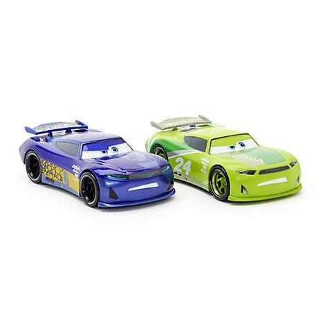 Vehículos a escala Chase Racelott y Bubba Wheelhouse