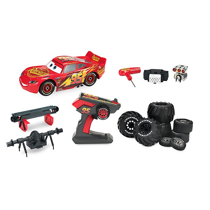 Disney Store Lightning McQueen Build To Race Car