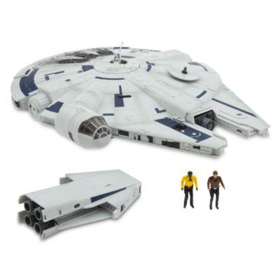 Set da gioco Millennium Falcon e personaggi