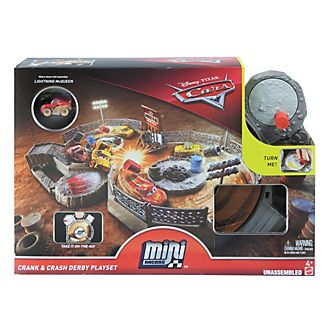 Disney Pixar Cars Crank and Crash Derby Playset