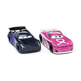 Pack de 2voitures miniatures Jackson Storm et Flip Dover, Disney Store