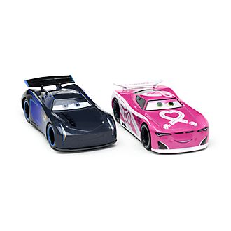 Disney Store Jackson Storm and Flip Dover Die-Cast Twin Pack