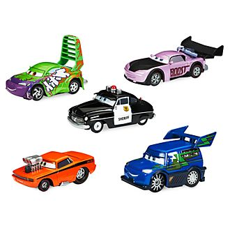 Disney Store Sheriff and Tuner Die-Cast Cars