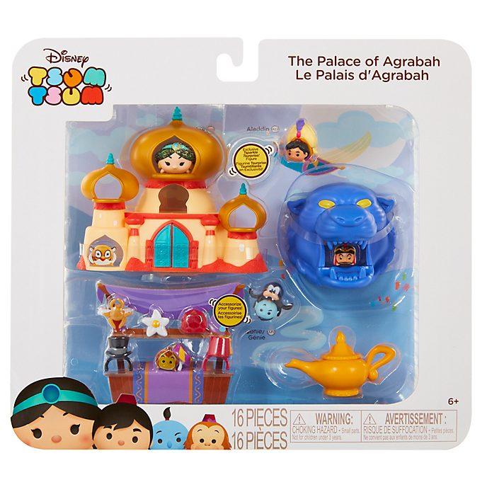 Aladdin The Palace of Agrabah Tsum Tsum Story Pack