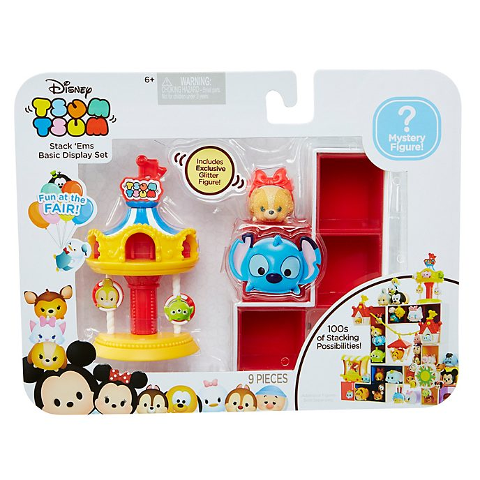Collection décorative Tsum Tsum Stack 'Ems Lady, série Fun at the Fair