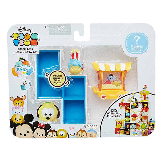 Set exposición apilable Tsum Tsum Alegría, Fun at the Fair