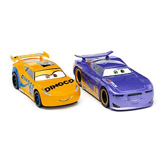 Set vehículos a escala Cruz Ramírez y Daniel Swervez, Disney Store (2u.)