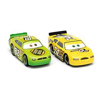 Disney Store Duo de voitures miniatures Darren Leadfoot et Slider Petrolski