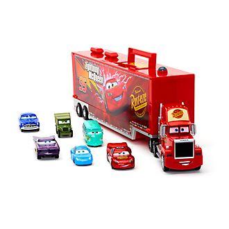 Camión transportador de coches con motor fricción, Disney Pixar Cars, Disney Store