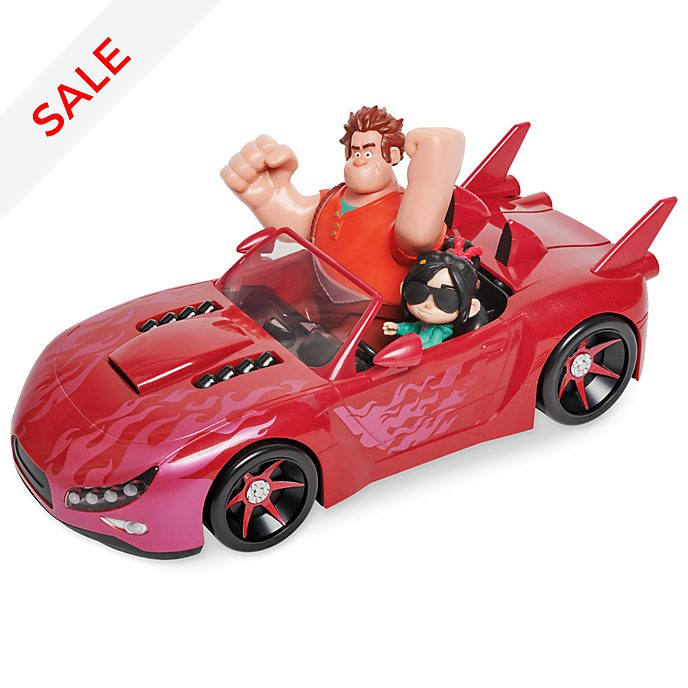Disney Store Wreck-It Ralph 2 Slaughter Race Vehicle