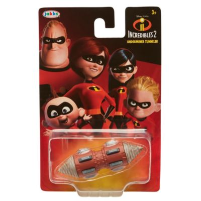 Incredibles 2 Underminer Tunneler Die-Cast Car