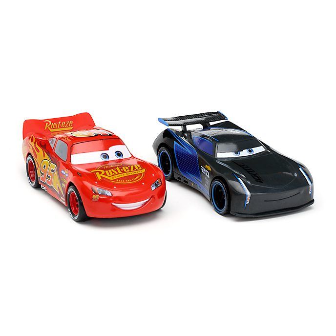 Disney Store Lot de 2 voitures de course à friction, Disney Pixar Cars